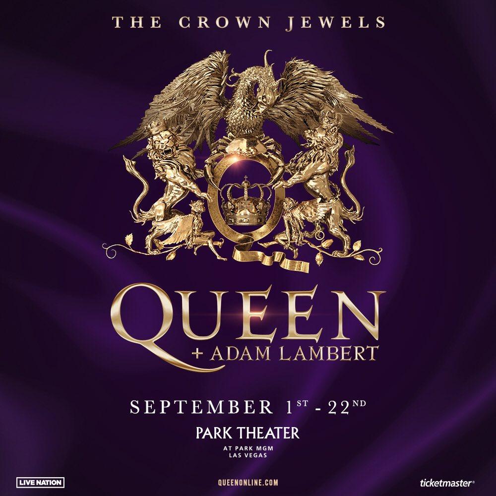 Press Release: Queen + Adam Lambert To Rock Las Vegas