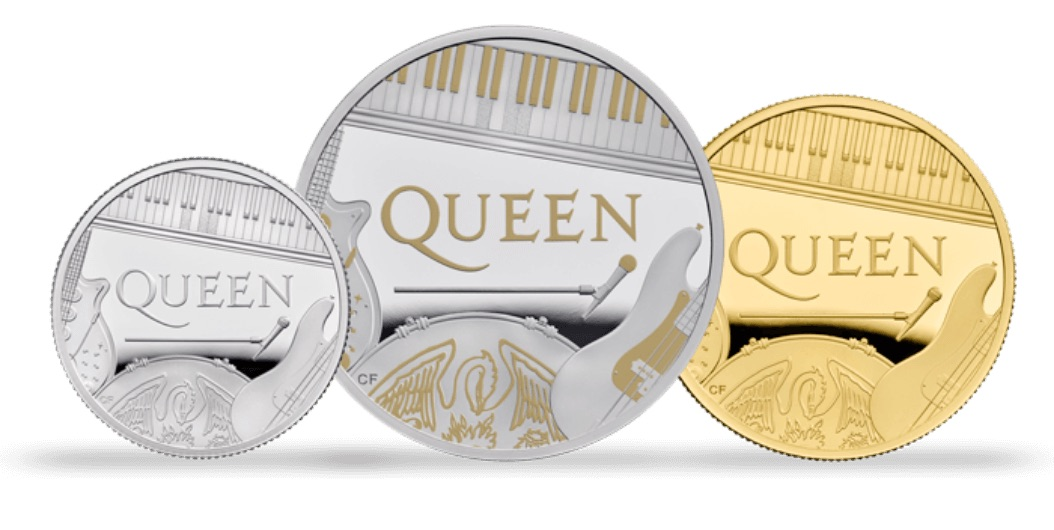 """""""I feel entirely spent"""" – Queen are getting their very own £5 coin"""