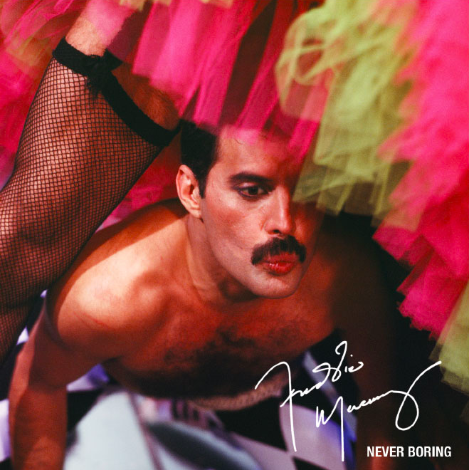 Freddie Mercury Never Boring Love Kills