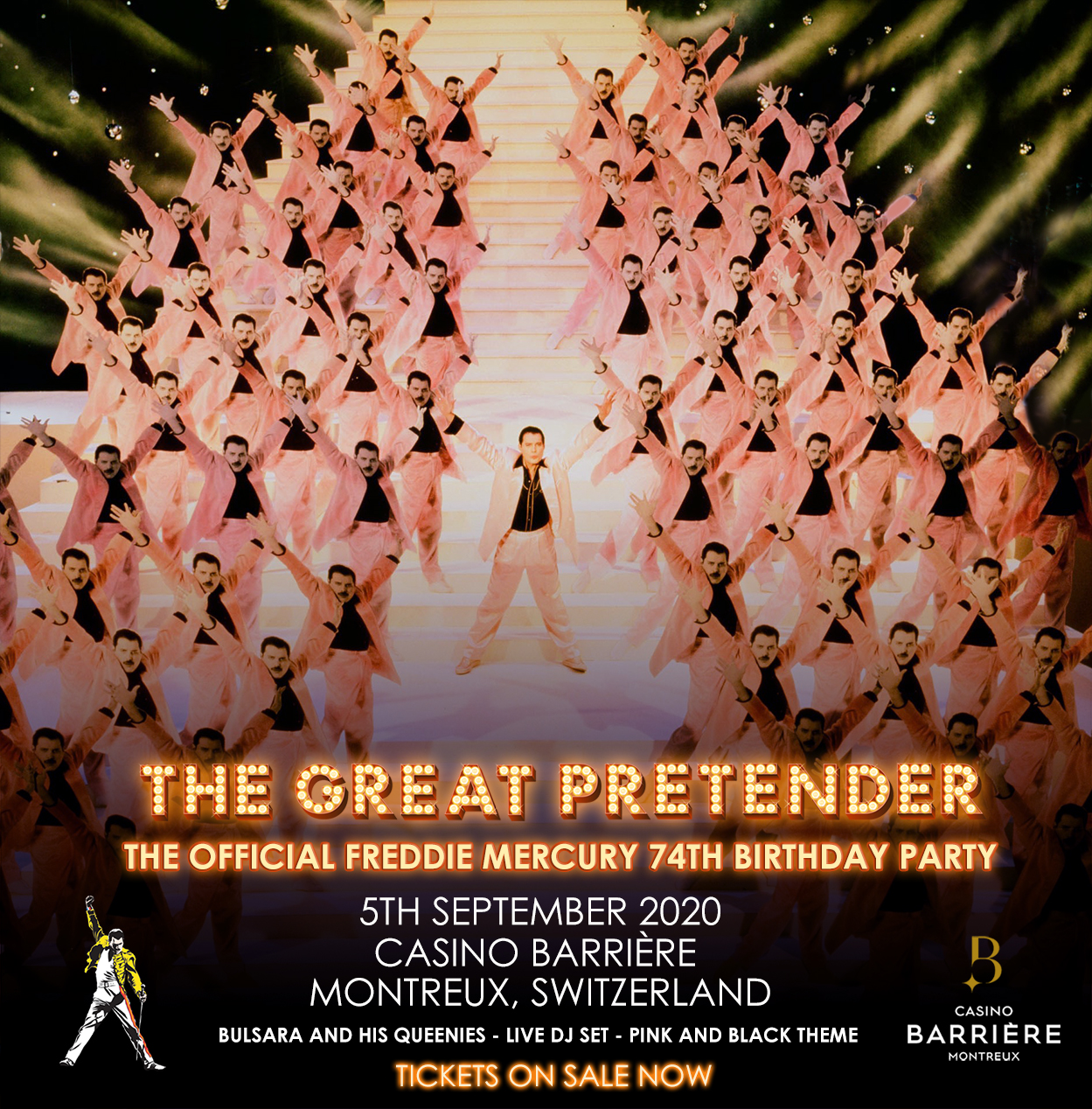 Fiesta Cumpleaños Freddie Mercury Montreux 2020